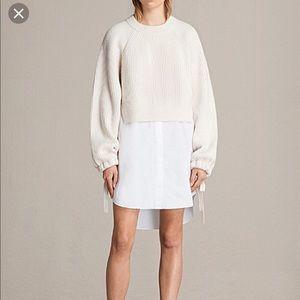 All Saints Sura Jumper Sweater Dress